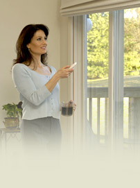 remote control blinds, motorized drapery